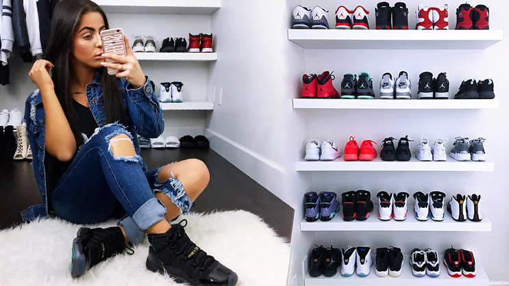 f70027926daf SNEAKER TALK  Female Sneakerhead – a chat with Sayeh Sharelo ...
