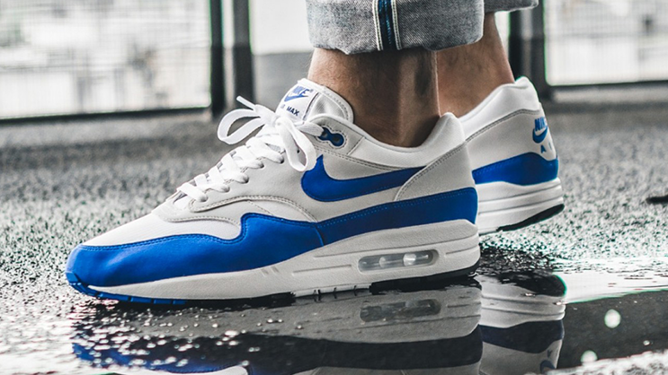 """on sale 18f83 2c0e4 Following the re-release of the Nike Air Max 1 """"University Red"""" pair, the """"Game  Royal"""" is also making a return in October."""