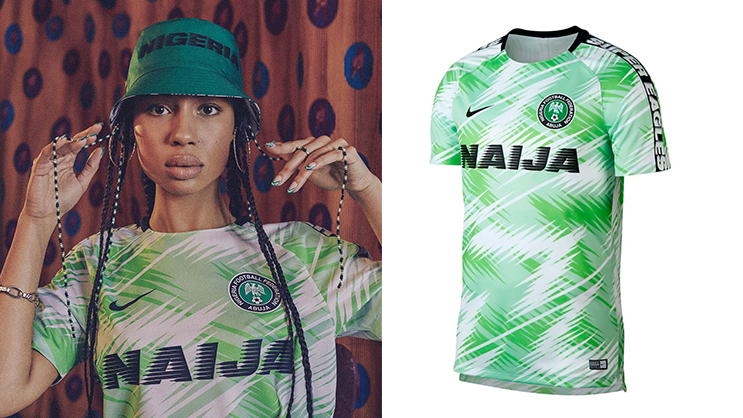 release date f77ef ff700 Nike releases Nigeria 2018/19 Dri-fit Football Jersey ...