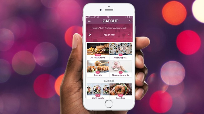 Eat Out Launches New App To Allow Users To Search Book