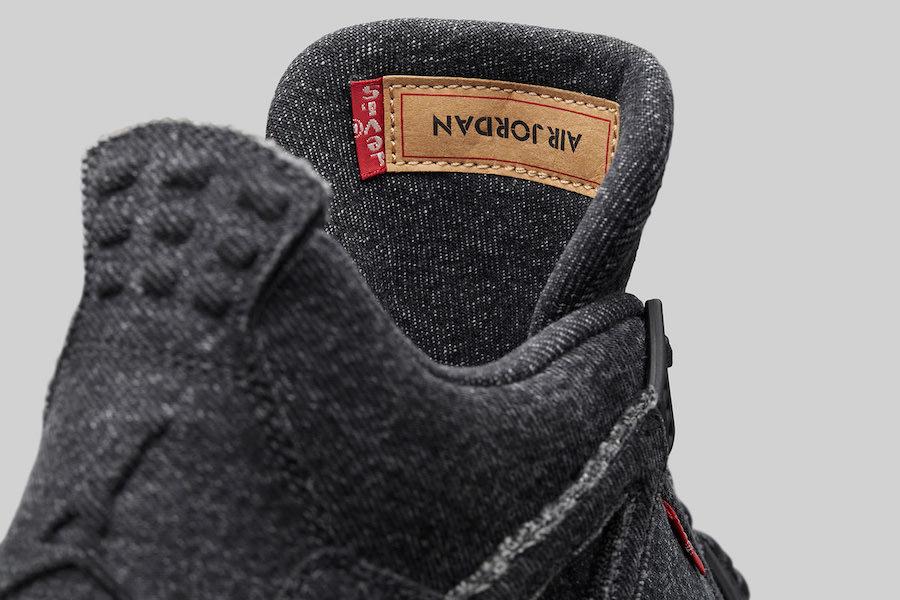 innovative design 45390 e495d The Levi's® x Air Jordan 4