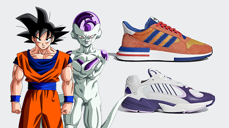 ded926f0ad7e7 adidas kicks off its Dragon Ball Z collection with the ZX500 RM