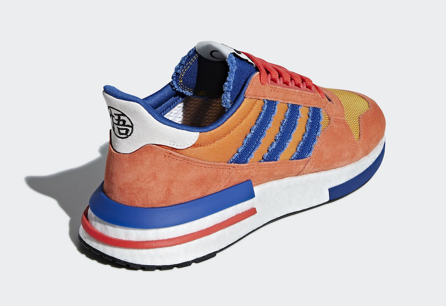 f682774a First up, the remodeled adidas ZX 500 RM silhouette forms the backdrop for  Son Goku's character, the shoe comes dressed in the colors of the hero's ...