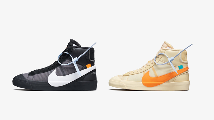 46c9857e78f4 RELEASE REMINDER  The Off-White x Nike Blazer Mid