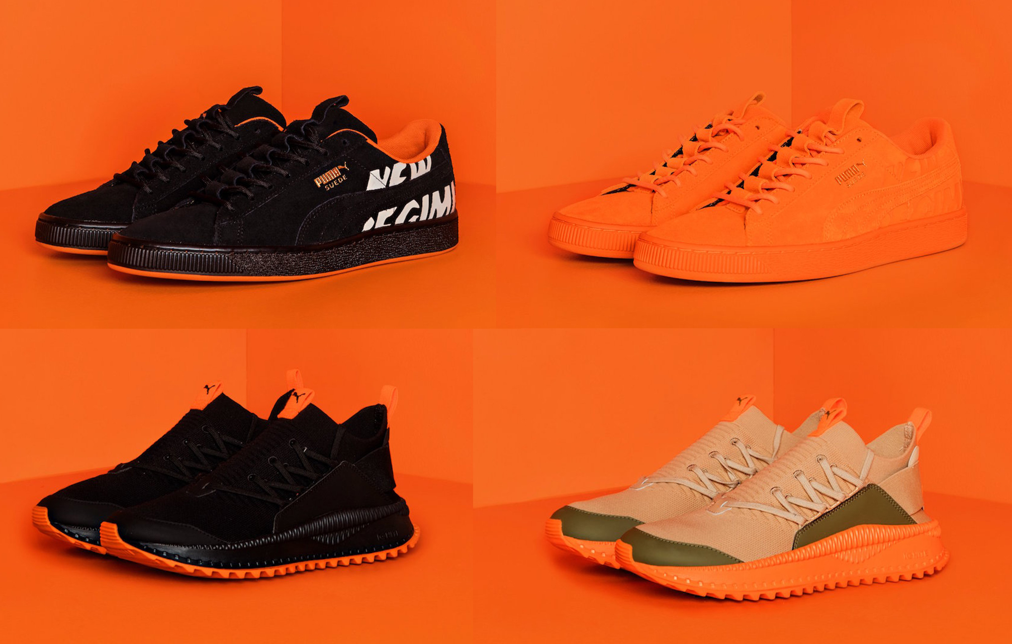 e0ef4574175 PUMA links up with Atelier New Regime for a motorsport-inspired ...