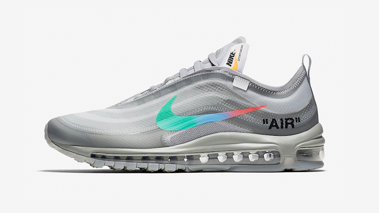 best service 9aa35 b2509 The Off-White x Nike Air Max 97