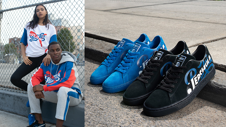 d45c2ac6962765 PUMA has linked up with pop culture s cola Pepsi® for an exclusive  collaboration that honours 50 years of the iconic PUMA Suede.