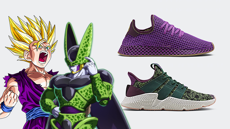 8886594eed4 The 2nd adidas x Dragon Ball Z collection  Deerupt