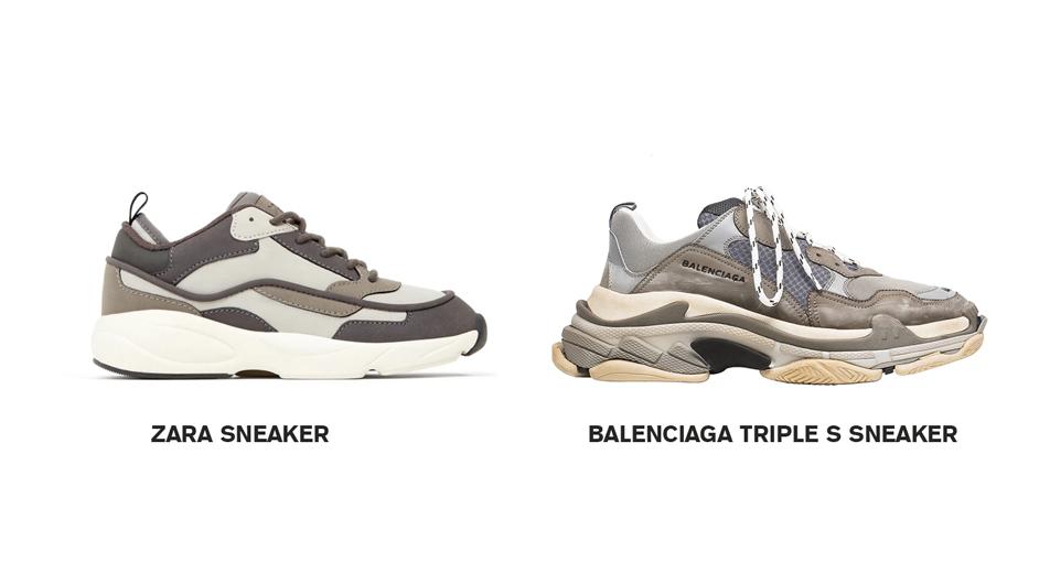 like Balenciaga Triple S