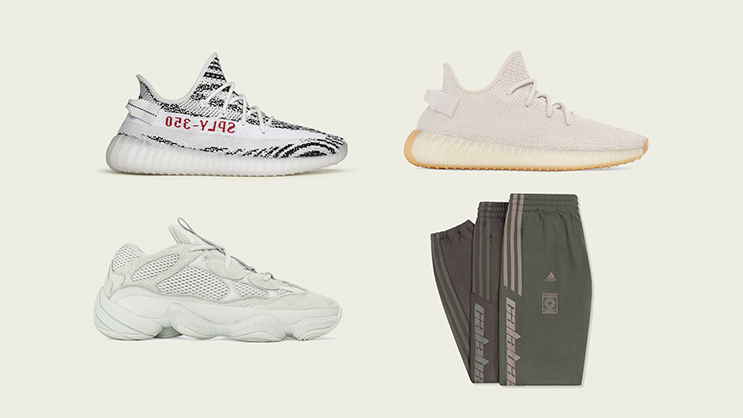 53b8a89656bbc6 adidas and KANYE WEST have confirmed the upcoming YEEZY releases for the  entire November 2018.