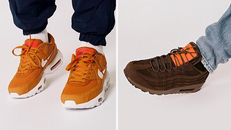 Patta Nike Air Max 90 + 95 Nike By You Release Date