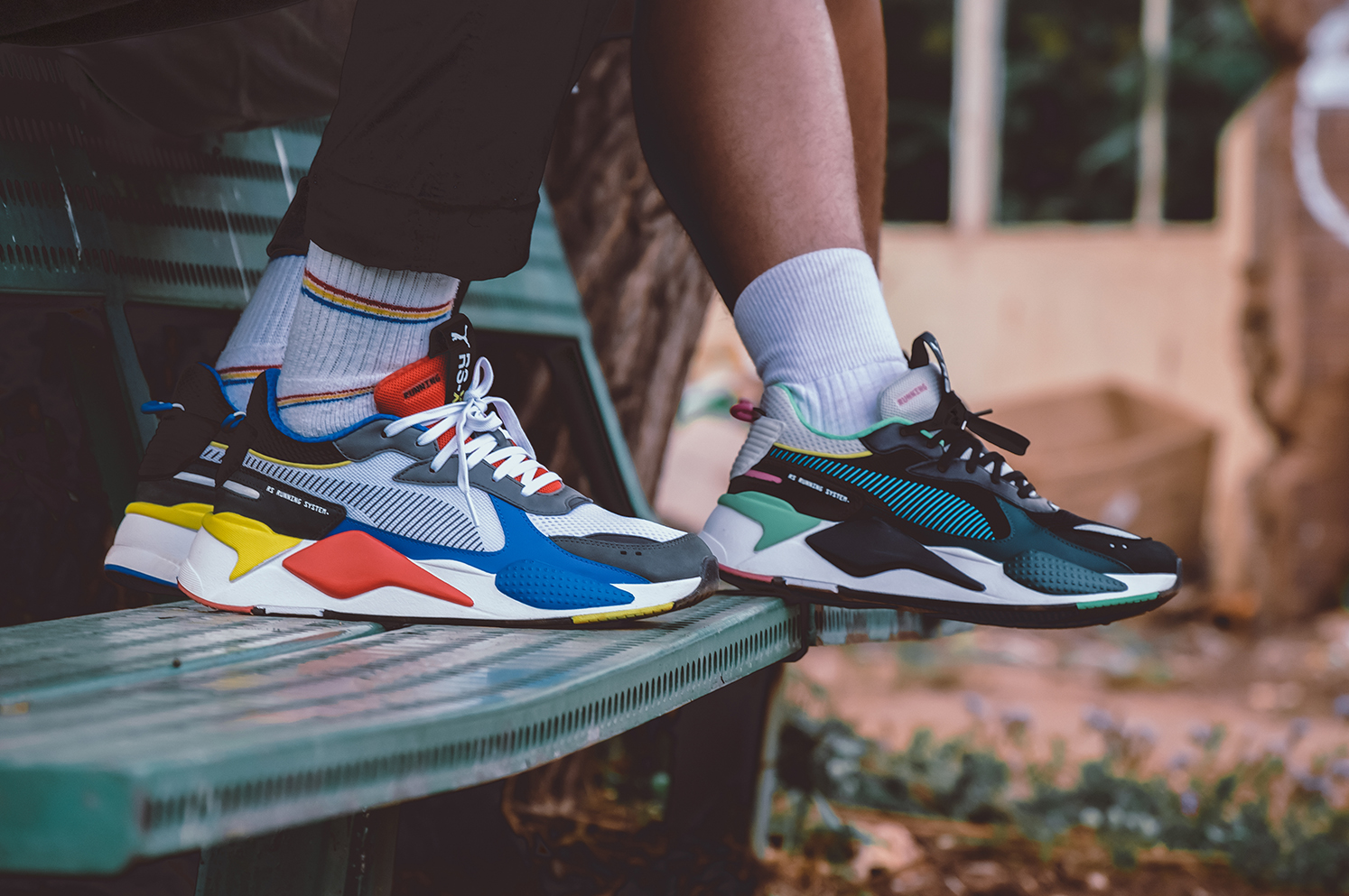 88c909938ad4 Offered in two colourways  PUMA Black Blue Atoll and PUMA White PUMA  Royal High-Risk Red