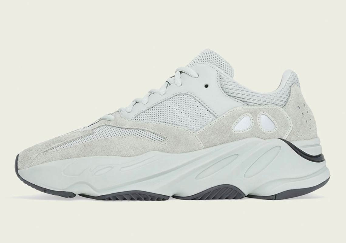 28e0fe39f3d50a adidas + KANYE WEST continues to expand their YEEZY 700 line-up and for  this month they will be releasing a  Salt  colourway.