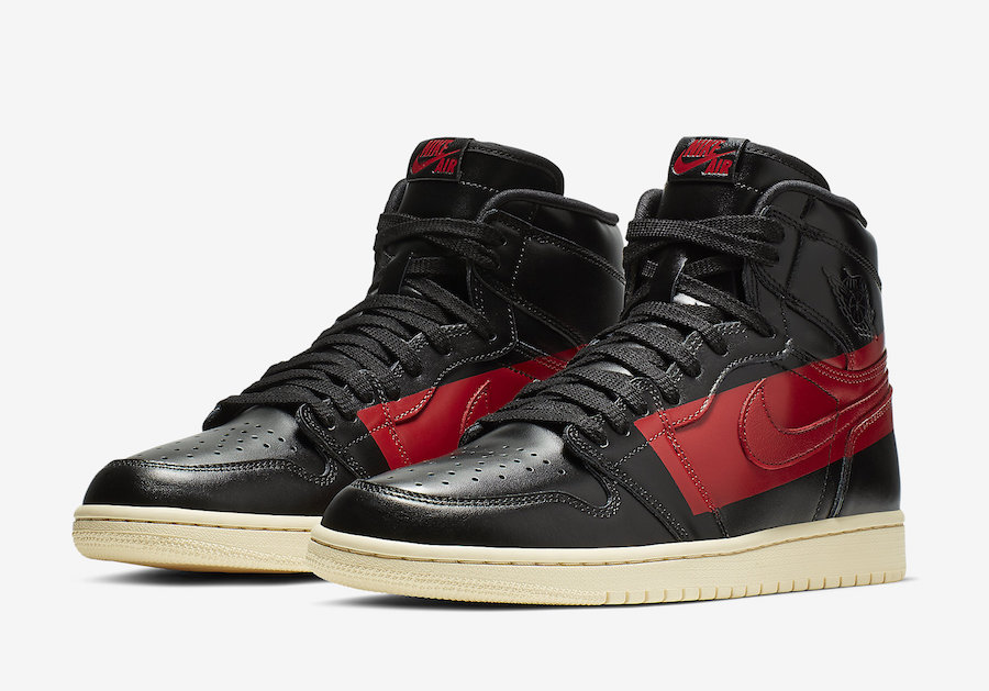 "b27f76768d90 The cut of this Air Jordan 1 ""Couture"" is slightly higher than the usual Air  Jordan 1 High OG. The shoe comes dressed in a Black"