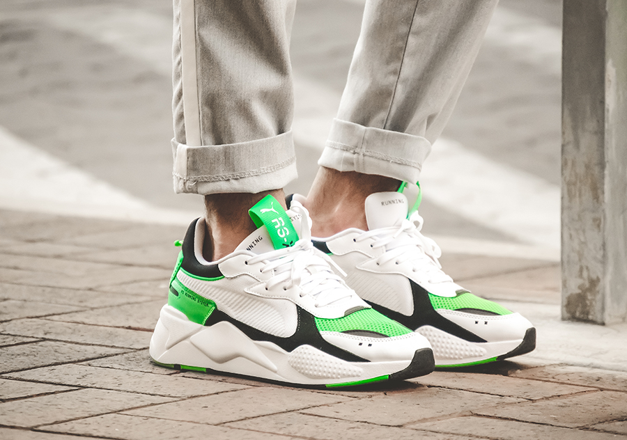newest cc753 60166 Part of their RS-X line, PUMA recently released the RS-X Reinvention in   White Irish Green  rendition.