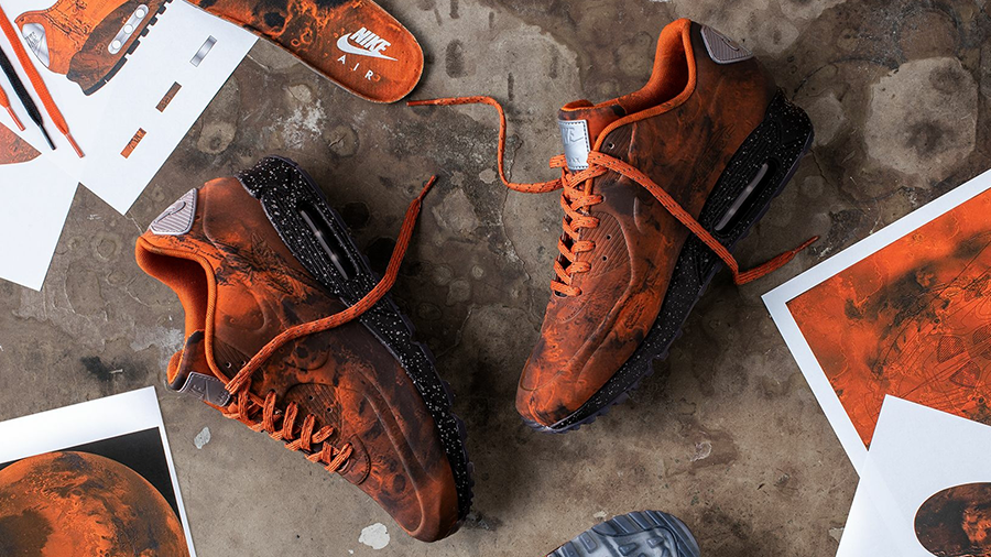 """789b7fc9 As a follow up of the 2014 """"Moon Landing"""" Air Max Lunar90 SP, for 2019 Nike  will be releasing another rendition of the Air Max 90 with """"Mars Landing""""  ..."""