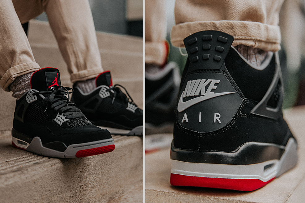 size 40 6848b 71c31 ON-FEET LOOK: 2019 Air Jordan 4