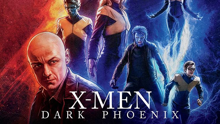 Tren Untuk Poster X Men Dark Phoenix Koleksi Poster