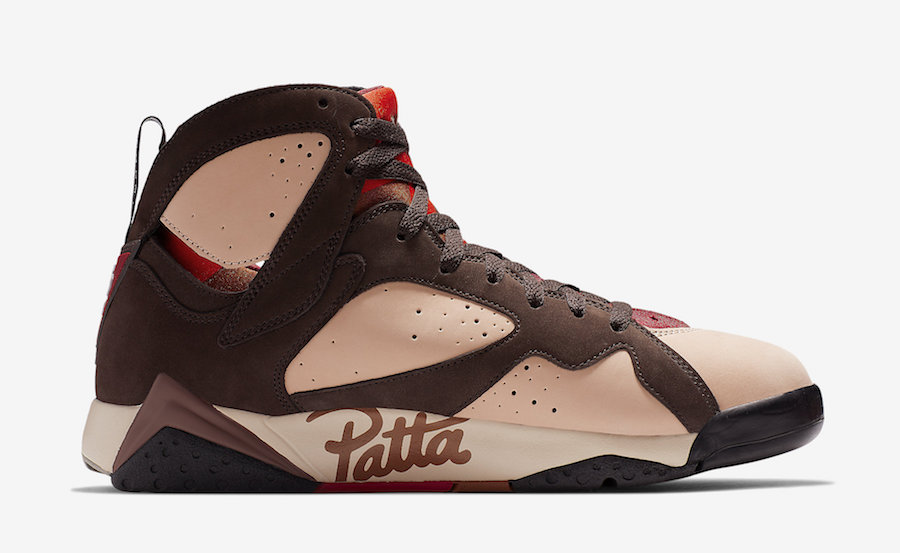 low priced 525f0 c5d2f Look out for the Patta x Air Jordan 7, to release on Saturday, 15 June 2019  online via Nike.com  BUY LINK  – the retail price is set at R 3,099.95.