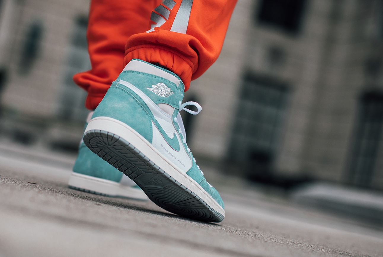 Release Date Air Jordan 1 Retro High Og Turbo Green Yomzansi
