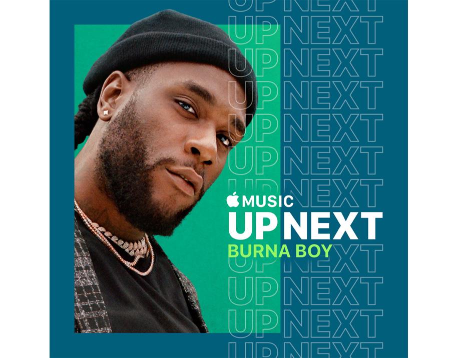 Burna Boy announced as Apple Music's Up Next artist ahead of