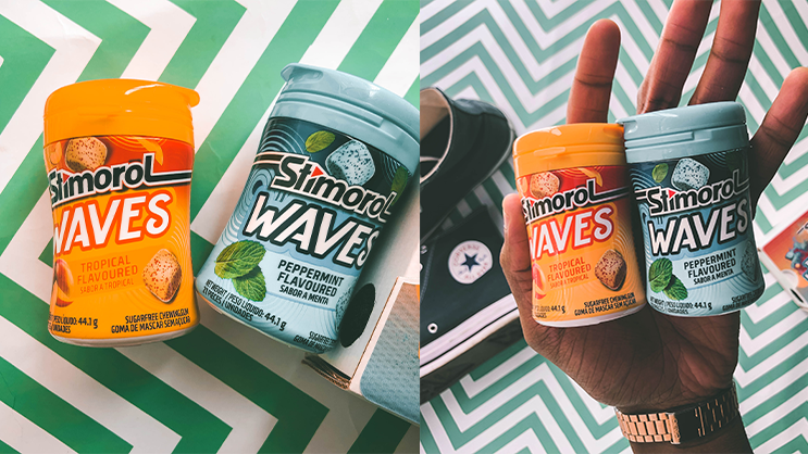 Stimorol wants you to create your own wavy masterpieces with