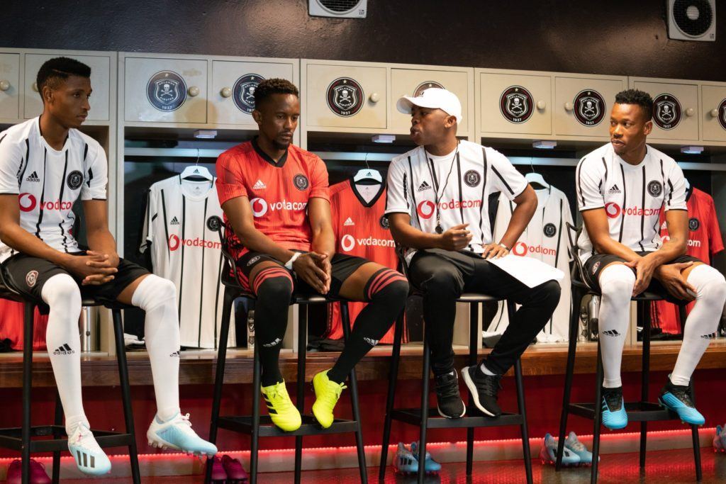 Here's a look at Orlando Pirates' 2019/20 home and away kits