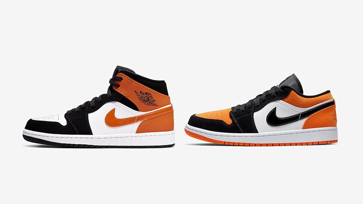 Release Date: Air Jordan 1 Low \u0026 Mid in