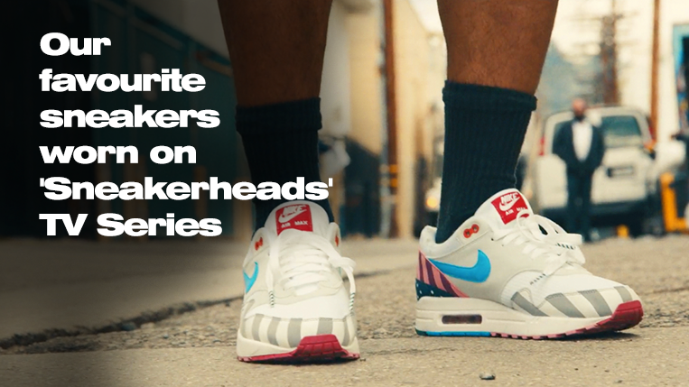 Favourite sneakers worn on