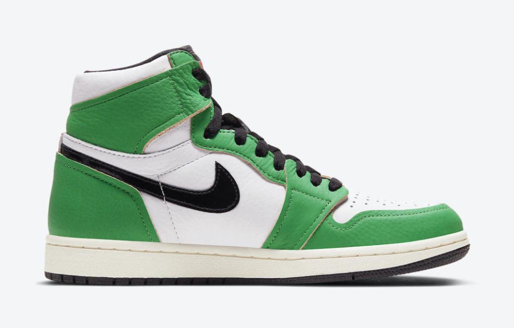 Tenisufki.eu - Air Jordan 1 High OG WMNS Lucky Green