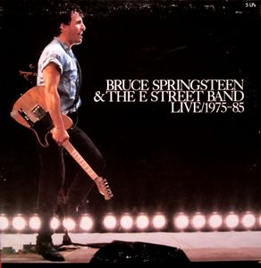 BRUCE SPRINGSTEEN & THE E STREET BAND-Live/ 1975-85 (1986)