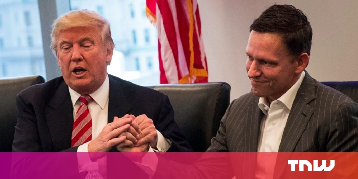 Study: Trump's paid Peter Thiel's Palantir $1.5B so far to build ICE's mass-surveillance network