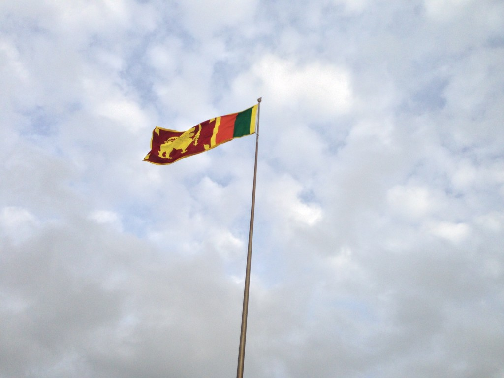 Sri Lanka Flag, at Galleface, Photos by Yoosuf Mo