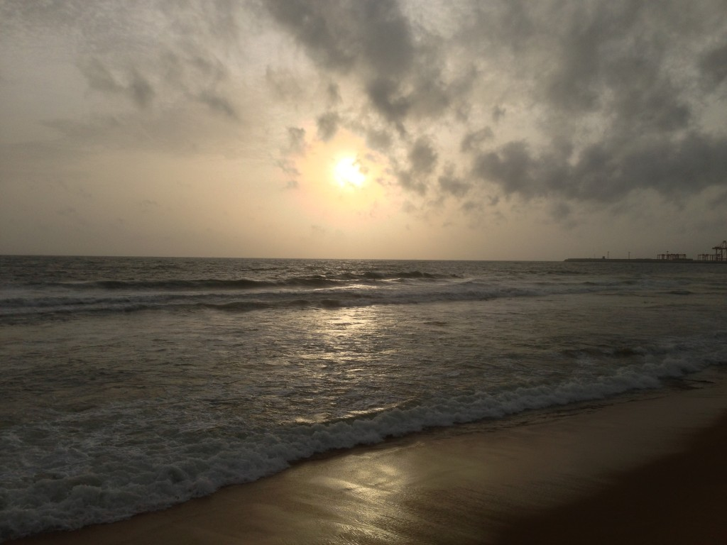 Galleface - a sunset view, Photos by Yoosuf Mo