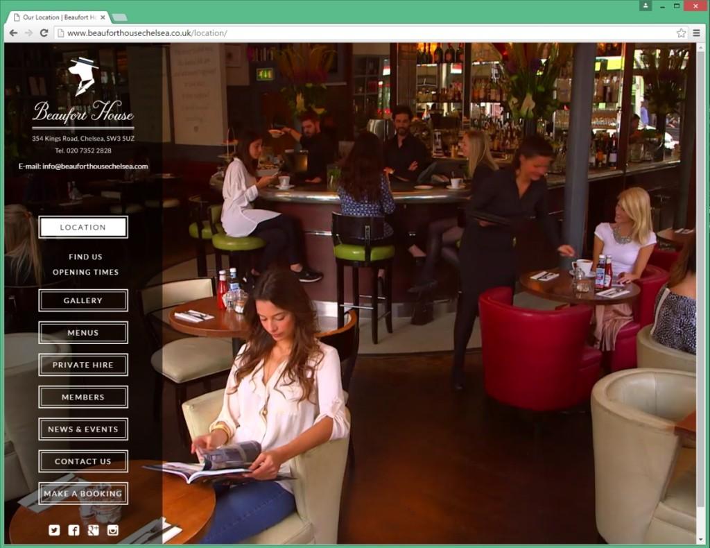 Website after the makeover