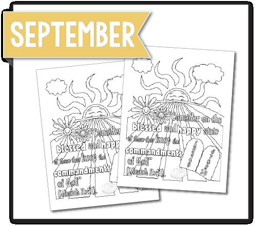 September Commandments Latterdayvillage
