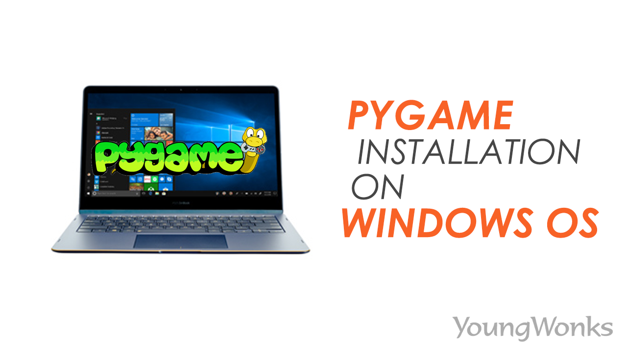 How to Install PyGame on Windows
