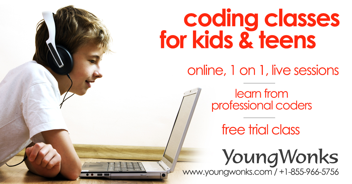 YoungWonks - Coding School for Kids and Youth | Free Trial Class