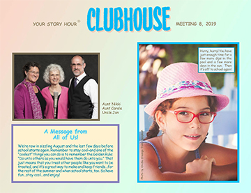 Your Story Hour - Clubhouse