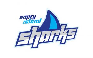 Orlando Affordable Logo Design - Amity Island Sharks by Ocasio Consulting