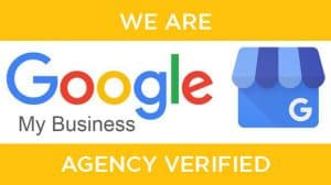 We are a verified Google My Business Agency