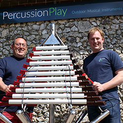 Percussion Play wins Queens Award for Enterprise