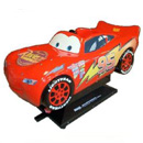 Lightning McQueen - Coin Operated Kiddie Ride