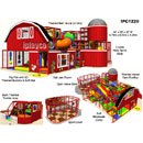 Barn Themed Indoor Playground Equipment