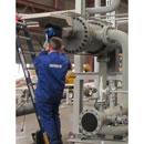 Rotork CVA specified for flow control duty on gas turbine pre-heater plants