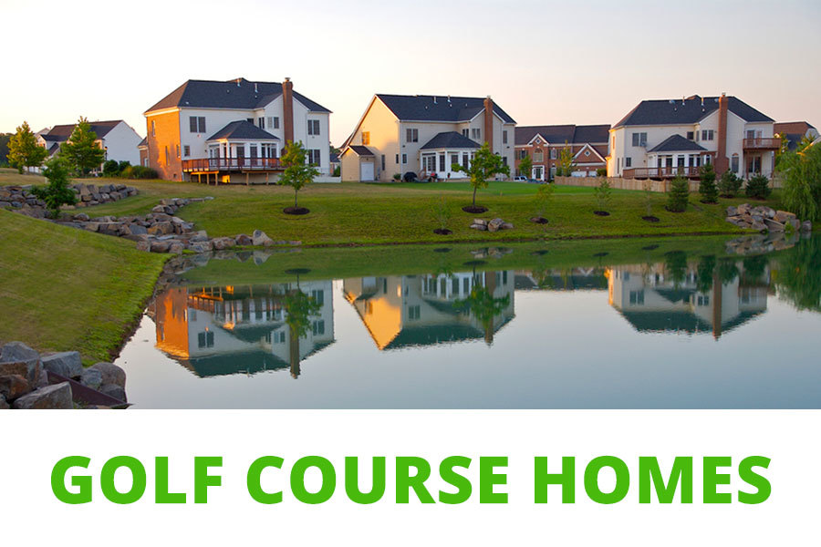 Fairfax golf course homes for sale