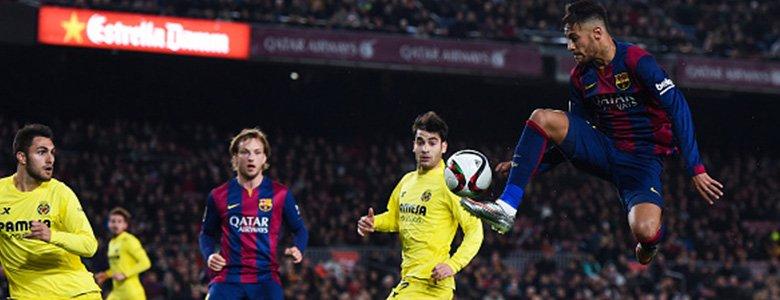 برشلونة قريب من أول ألقابه
