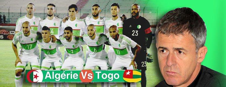 مباراة (الجزائر1 - توغو 0) تحت المجهر