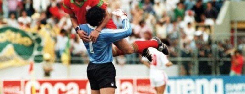 عبد المجيد الظلمي.....نم مرتاح البال يا مايسترو الكرة المغربية