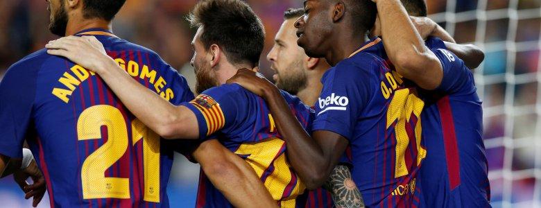 اختبار  تكتيكي لبرشلونة